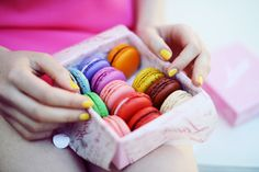 French macarons. AKA pretty patties.
