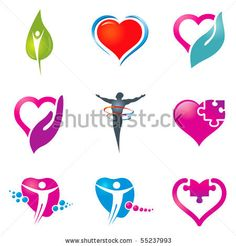 Various colorful health care icons for your  designs. - stock vector