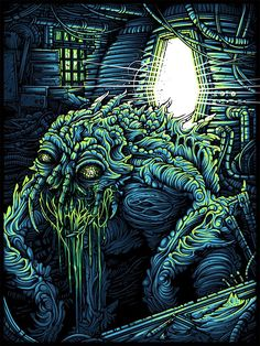 The Fly Horror Movie Art
