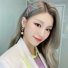 Find images and videos about kpop, itzy and yeji on We Heart It - the app to get lost in what you love. Kpop Girl Groups, Korean Girl Groups, Kpop Girls, My Girl, Style Inspiration, Hair Styles, Pretty, Earrings, Cute
