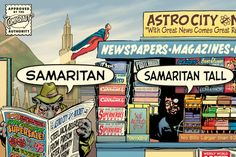 Check out Samaritan Tall by Comicraft Fonts on Creative Market