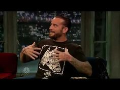 CM Punk on Jimmy Fallon.  WWE takes over the world...these guys are not just athletes, they're entertainers :)