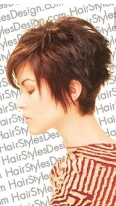 "Like this but with more of a ""pixie"" style at the nape."