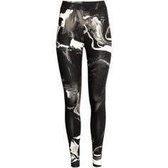 Patterned Leggings $24.99 ($50) ❤ liked on Polyvore featuring pants, leggings, print leggings, patterned pants, patterned trousers, jersey leggings and patterned leggings