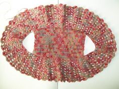 Crochet bolero by crochet cricket