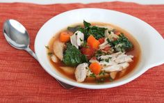 Minestrone is Italian vegetable soup, a one-pot meal that provides the perfect opportunity to clean out the fridge. This hearty version is made with homemade chicken stock (and cooked chicken) that's ready in about 30 minutes, to which you can add any vegetables you have on hand. This chicken stock isn't quite as nutrient rich [...]