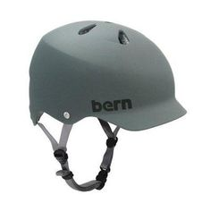 Bern Watts Water Helmet Wakeboard Helmet. Protect your melon. Remove your fins with #Quikfin , cover your brain with a #Bern