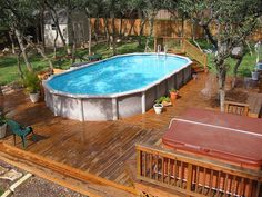 above ground pool decks. Delighful Above Above Ground Deck Idea  Ground Pool DecksGround  To Decks