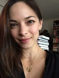 Happy Woman Crush Wednesday everyone. Kristin Kreuk @MsKristinKreuk Dec 1 Get this beautiful(!) necklace by @bingbangnyc and all profits go to @iamthatgirl http://www.bingbangnyc.com/collections/collaborations/products/bb-x-i-am-that-girl-necklace …
