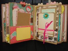 A Creative Operation: Off to see a Scrapbook Convention!  Vertical paper bag mini album.