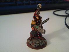 Imperial Guard Comissar #comissar #wellofeternity #warhammer40k #wh40k #40k #gamesworkshop #miniatures #wargaming