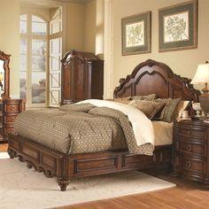 Homelegance 1390LP-1 Prenzo Panel Bed
