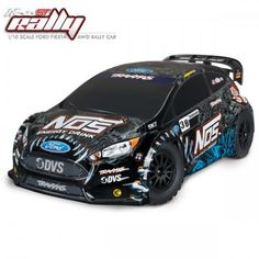 TRAXXAS - FORD FIESTA ST NOS DEEGAN 38 RALLY - 4X4 - 1/10 BRUSHED 74054-6