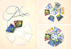 Learn how to make this Liberty Print faceted ring pincushion #StepByStep #tutorial on the Liberty Craft Blog #Stile Crochet Fabric, Crochet Quilt, Felt Fabric, Liberty Print, Liberty Of London, Pin Cushions, Felting, Wonderland, Sewing Projects