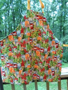 Canning Jar Apron made by Fried Green Aprons
