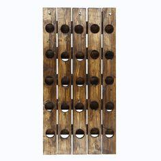 Evila Originale   Charakterstarke Regale und Ablagen - Decovry.com Raw Wood, Solid Wood, Riddling Rack, Rustic Wine Racks, Wine Rack Wall, Support Mural, Natural Wood Finish, Rack Shelf, Gifts For Wine Lovers