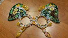 maschera di carnevale 2016 quilling