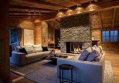 chalet near Kitzbühel Alpine Chalet, Ski Chalet, Steam Bath, Cladding, Contemporary Design, Pergola, Patio, Flooring, Interior Design