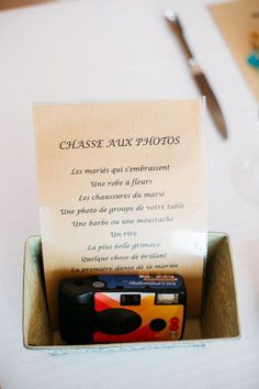 Alice + Germain - Wedding Home Wedding Reception Planning, Wedding Games, Wedding Vows, Diy Wedding, Wedding Planner, Wedding Day, Wedding Table, Alice, Just Married