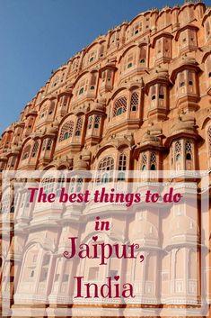 Travel to Jaipur, Rajasthan, India | Things to do in Jaipur | Places to visit in Jaipur, Rajasthan | Palaces in Jaipur, India