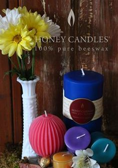 Ideas Using Beeswax Candles to Brighten Your Home for Spring