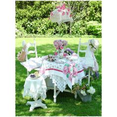 Victorian Tea Party and Romantic decorating at Vintage Rose Collection