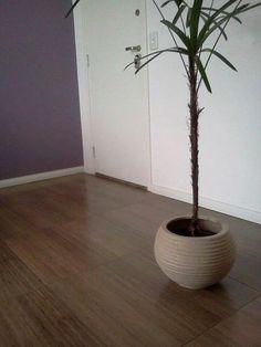 Porcelanato que imita madeira
