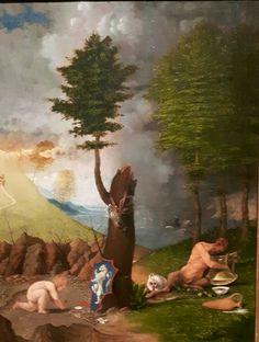 Allegoria della virtù  e del vizio. 1505. National Gallery of Art. Washington. Mostra Aldo Manuzio-Venezia. 2016