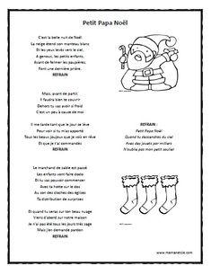1000 images about chanson on pinterest papa noel noel and rouge - Petit dessin de noel a imprimer ...