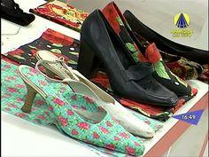 Santa Receita | Aprenda a forrar sapatos com Caio Von Vogt - 01 de Julho...sugestão usar bordados eletrônicos