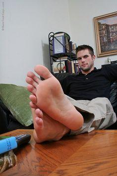 Cute Guys Feet
