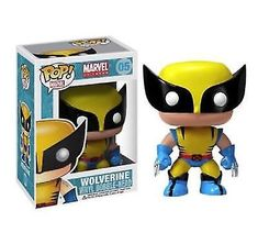 53d2789be Wolverine Bobble Head Marvel Funko POP Vinyl Figure #05 #afflink  Personagens Icônicos, Boneco