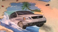 Street Painting Ford Mexico