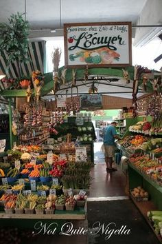 The food markets: Jean Talon and Atwater are worth perusing for some takeout picnic eats. You can get stuff from the market and walk to the canal or parks around the St. Lawrence River.