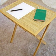 Free Tray Table Plans How To Build A Tv Tray Table