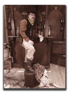 Gamblin' Man - photo taken by Miss Purdy's Old Time Photos serving the entire State of Texas!