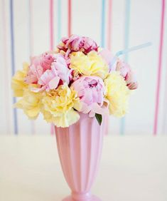 Milkshake flower arrangements for an ice cream party. Created by Just call me Martha Ice Cream Theme, Ice Cream Parlor, 50th Party, Birthday Parties, 3rd Birthday, Ice Cream Flower, Diner Party, Web Design, Ice Cream Social
