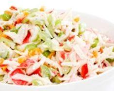 Salade fraîcheur au crabe (facile, rapide) - Une recette CuisineAZ