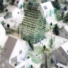 snapchat /add/ nextarch Model close-up 1:100 #conceptmodel #architecturemodel…