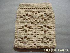 たこ糸で編むガーベラのぱっくんポーチの作り方|編み物|編み物・手芸・ソーイング | アトリエ|手芸レシピ16,000件!みんなで作る手芸やハンドメイド作品、雑貨の作り方ポータル