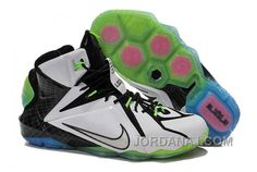 On Lebron 12 All Star White Multi Color Black TopDeals