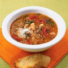 Sausage and Spinach Soup | MyRecipes.com