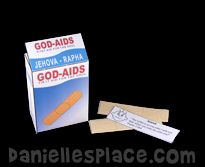 God-Aids Band-Aids with Bible Verses from www.daniellesplce.com