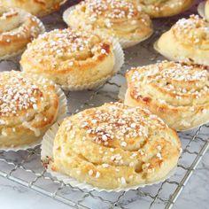 Baking Recipes, Cookie Recipes, Dessert Recipes, Desserts, Swedish Recipes, Sweet Recipes, Coffee Bread, Bagan, Sweet Bread