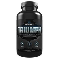 Legion Triumph Daily Multivitamin Supplement - Vitamins and Minerals for Anxiety, Depression, Stress, Immune System, Heart Health, Energy, Sports