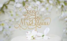 Items similar to Kiss the Miss Goodbye Cake Topper - Bridal Shower Cake Topper, Miss to Mrs, Bachelorette Party Cake Topper, Bride to Be, Wedding Cake Topper on Etsy Burlap Bridal Showers, Rustic Wedding Showers, Elegant Bridal Shower, Wedding Shower Cakes, Bridal Shower Centerpieces, Bridal Shower Invitations, Bride Wine Glass, Wedding Topper, Colorful Cakes