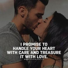 I will take care of your heart mi love