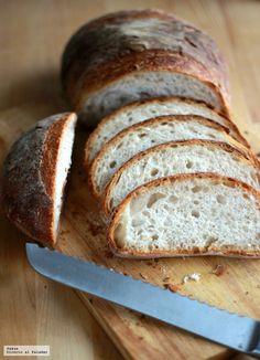 Hogaza Bread Machine Recipes, Bread Recipes, Real Food Recipes, Cooking Recipes, No Knead Bread, Pan Bread, Savory Scones, Salty Foods, Tapas Bar
