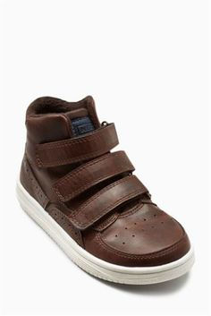 e2c637e2dd Buy Chocolate Triple Strap Chukka Boots (Older Boys) from Next USA