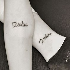 50 Heart-Warming Sister Tattoos Ideas